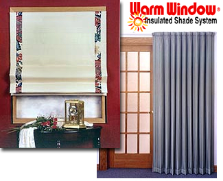 Insulated Shade Systems | Insulated Window Shades | Insulated Roman Shade